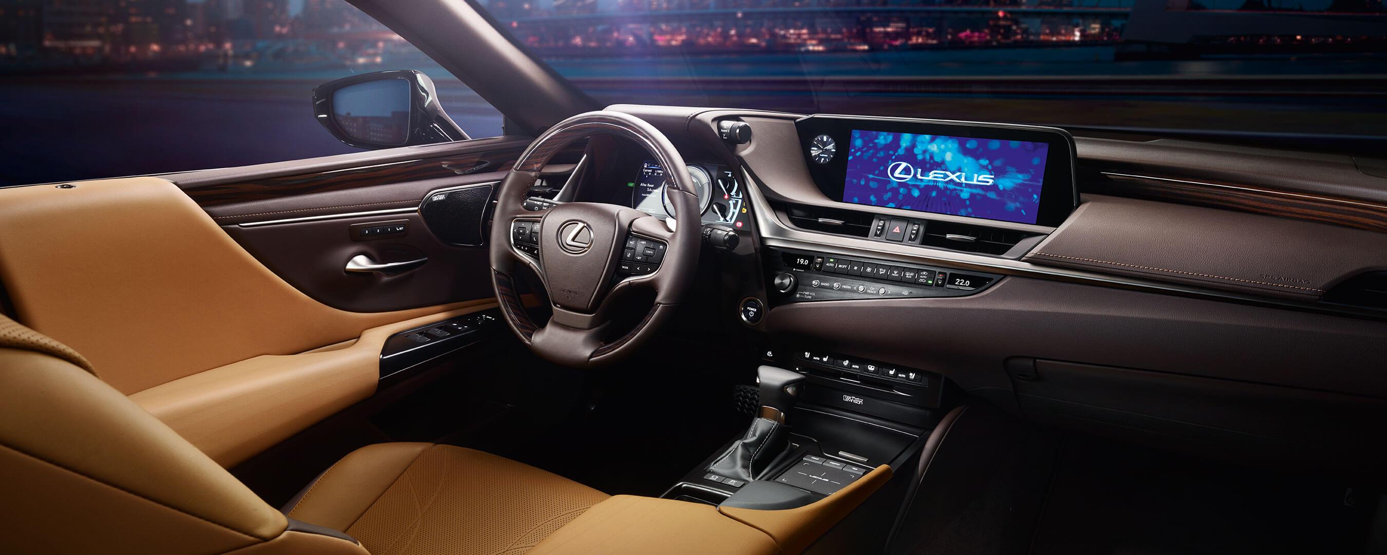2019 Lexus Es Hybrid Experience Hero Interior Front
