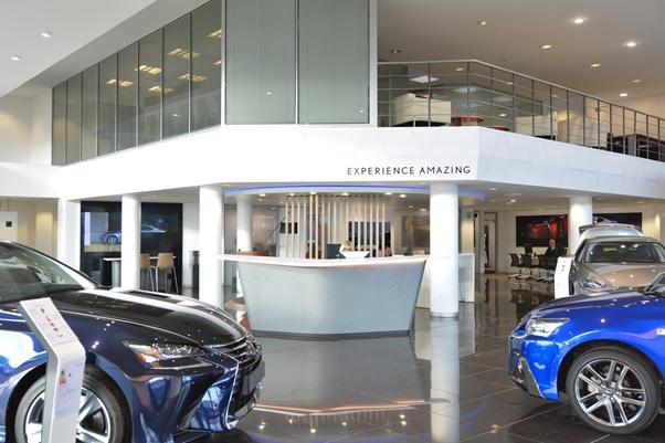 Jemca Lexus Reading 27 Showroom pic
