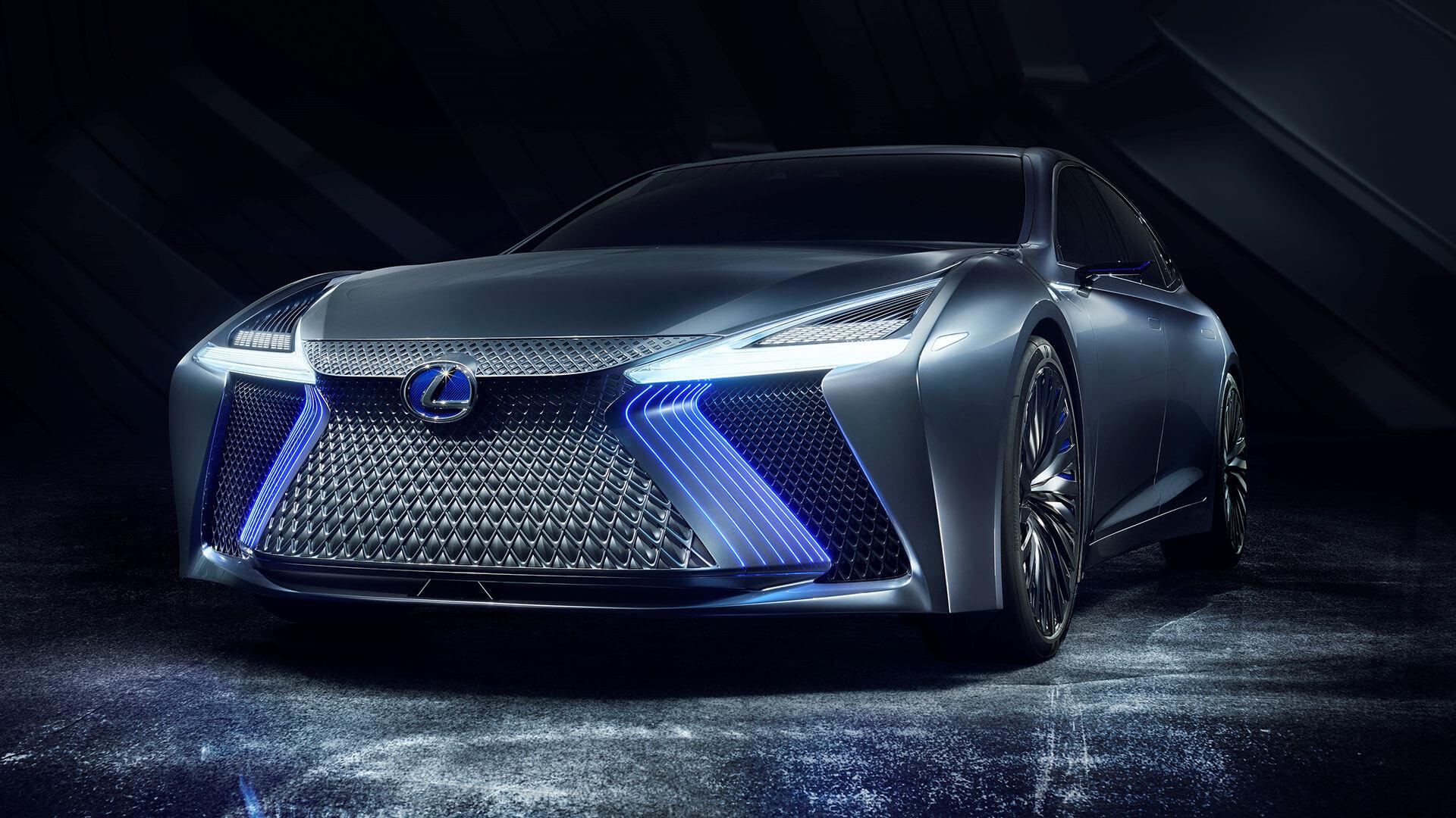 lexus ls concept tokyo motor show next steps