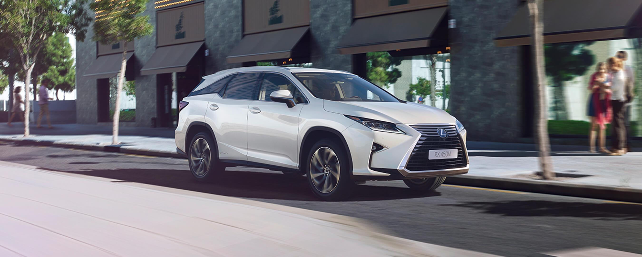 2018 lexus rx l experience exterior front
