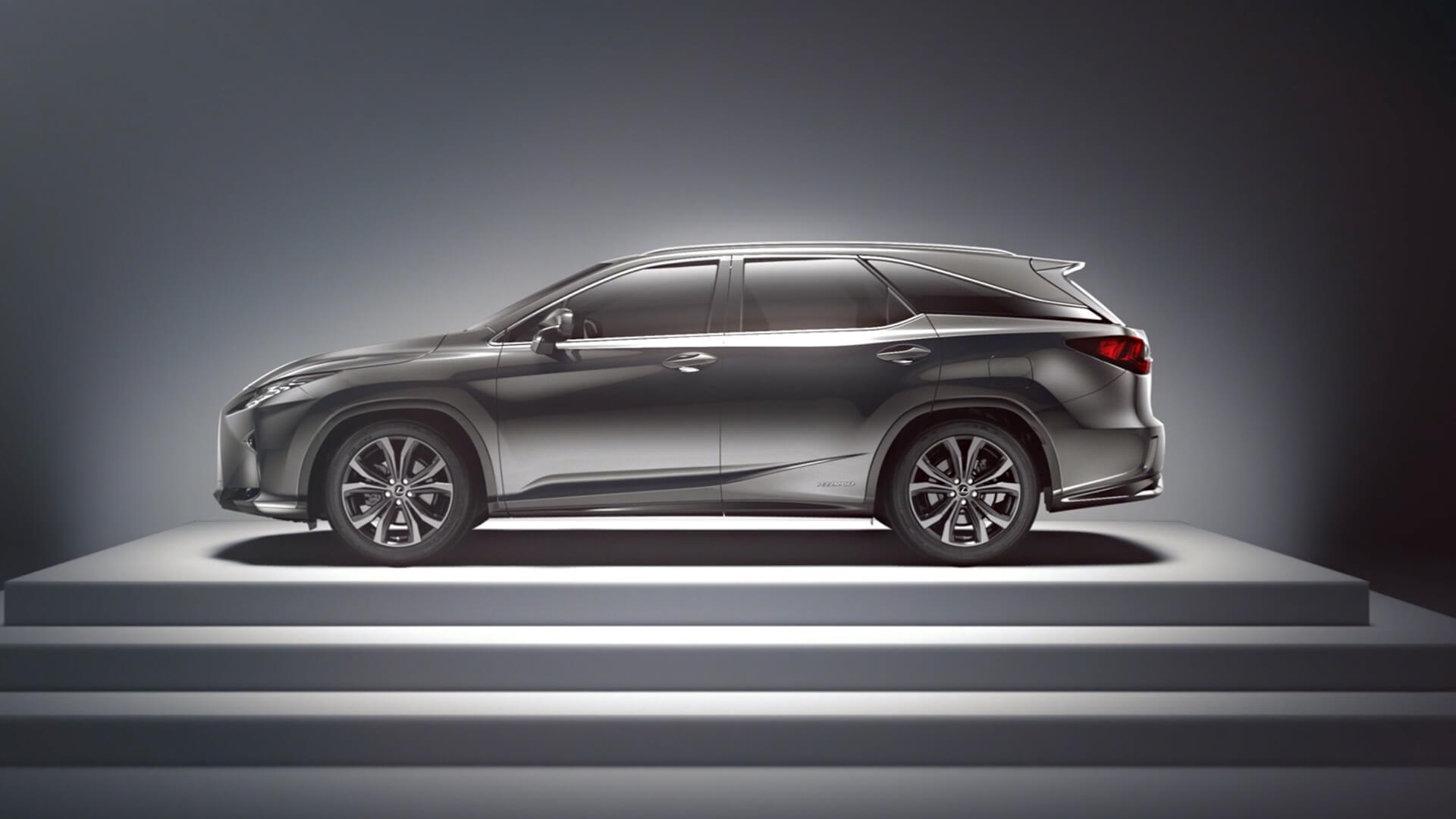 2018 lexus rx l features longer body line