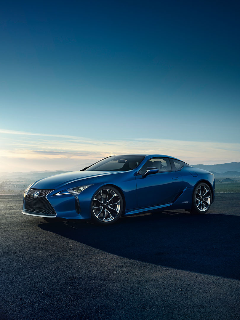 2018 lexus lc blue natures brilliance
