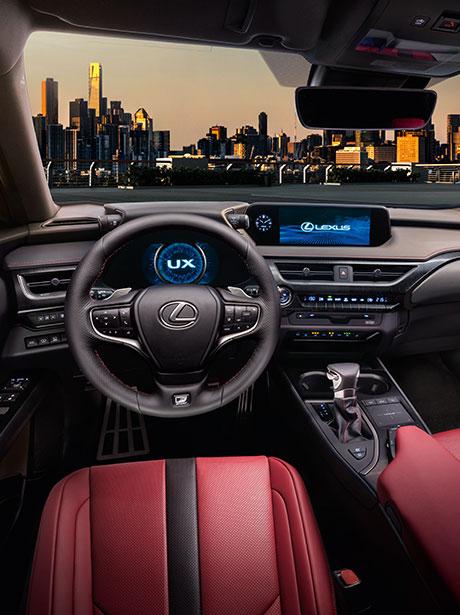 2018 lexus ux interactive design interior thumb