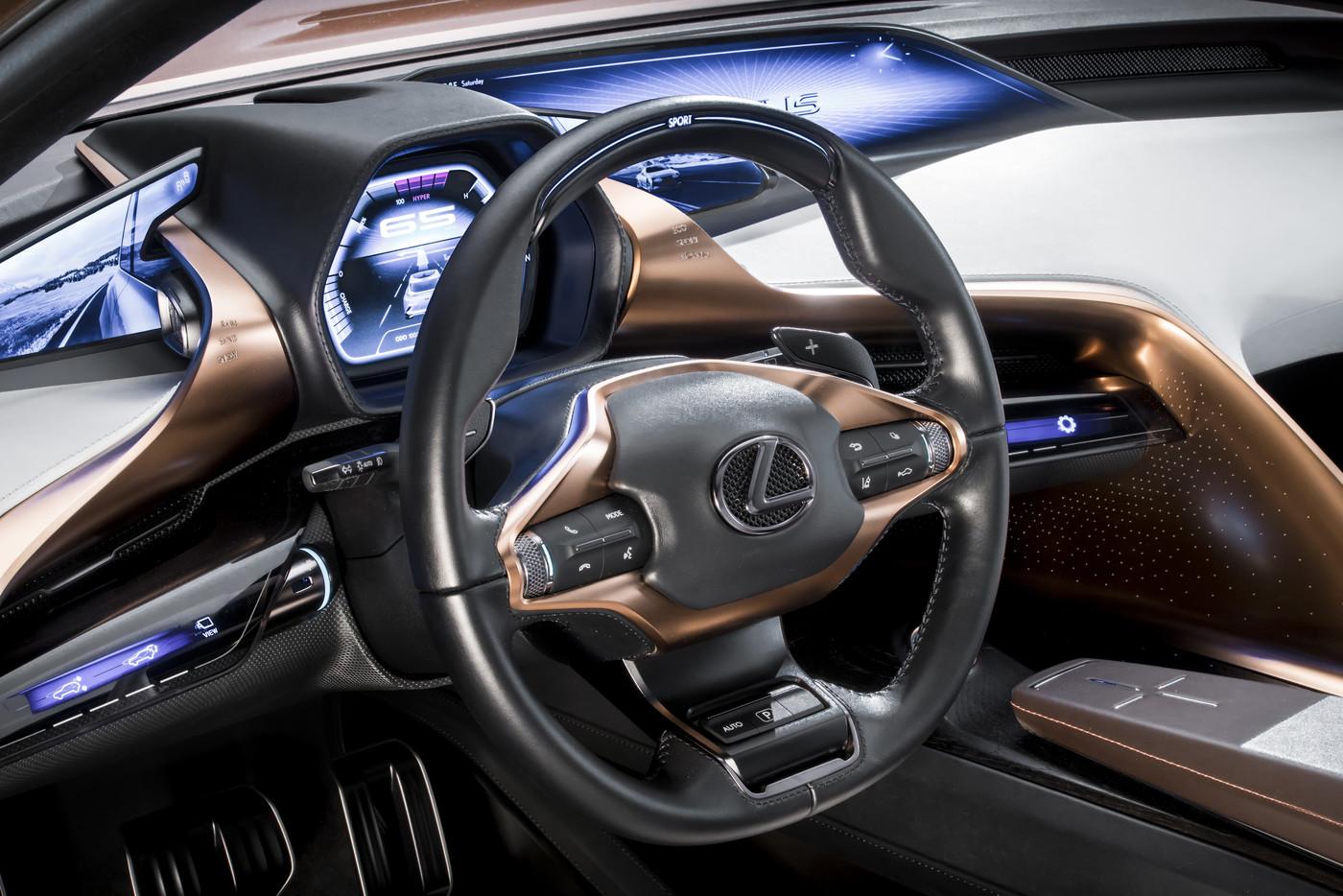 Lexus LF 1 Limitless studio 20