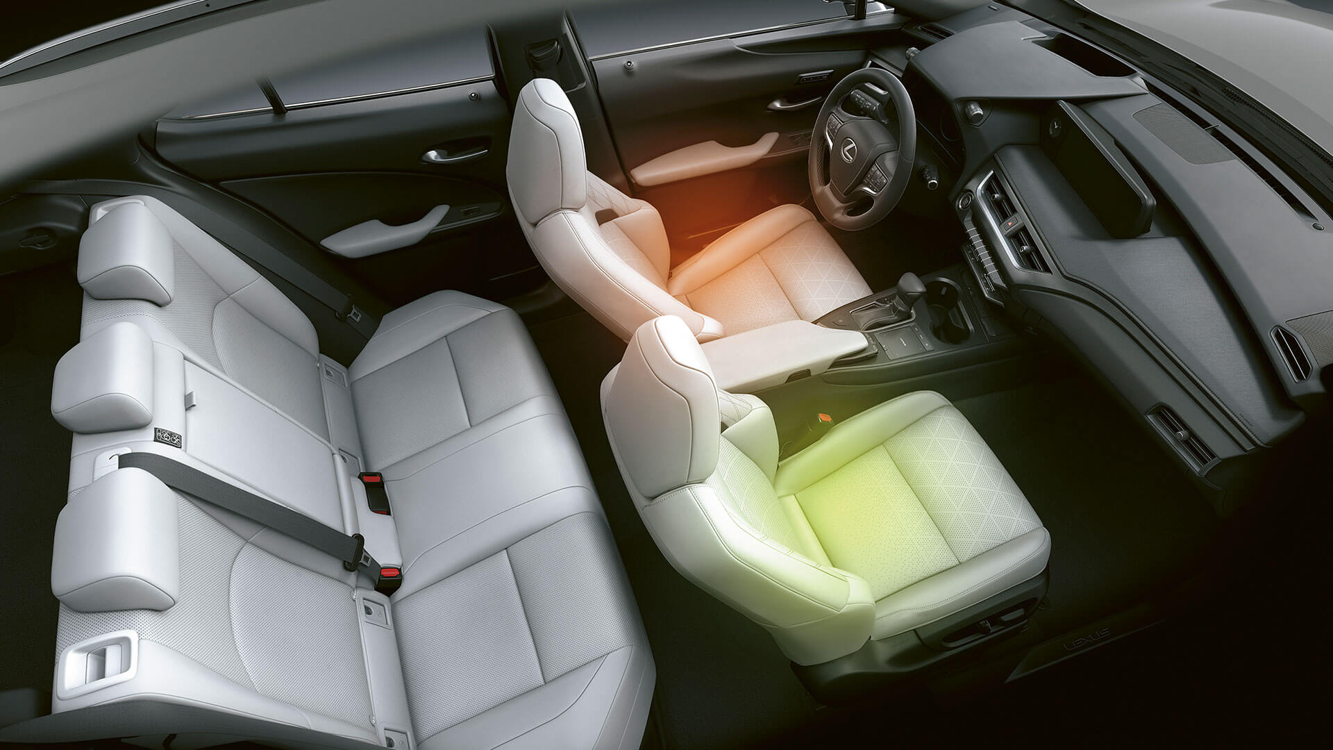 2018 lexus ux hotspot heated and ventilated seats