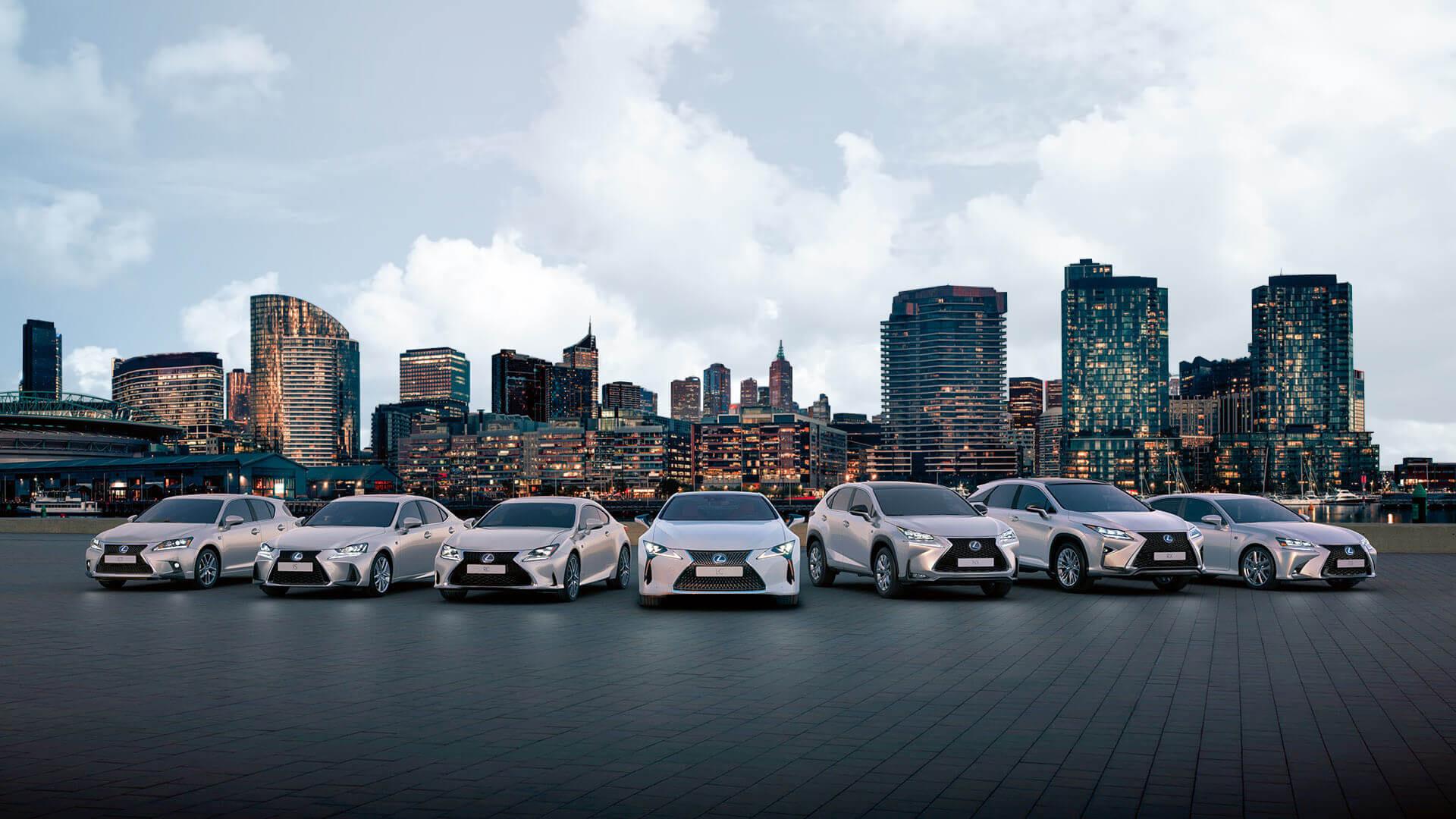 Lexus Service Hero image