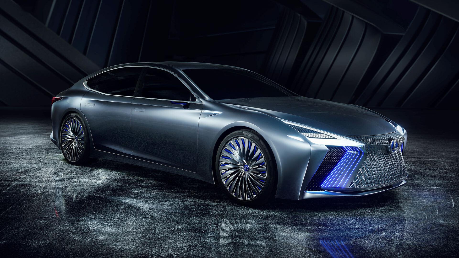 lexus ls concept tokyo motor show hero