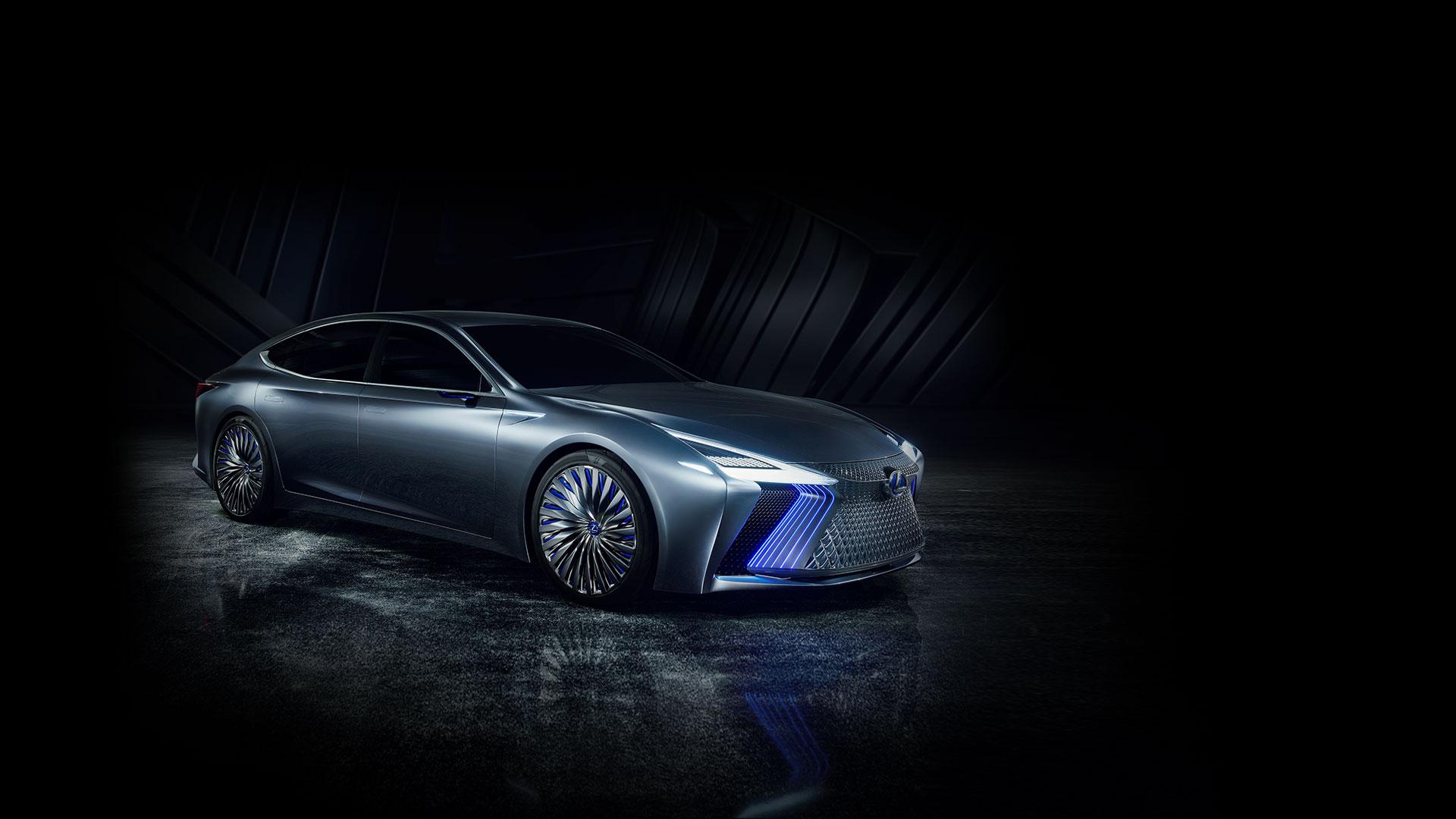 lexus ls concept tokyo motor show hub hero