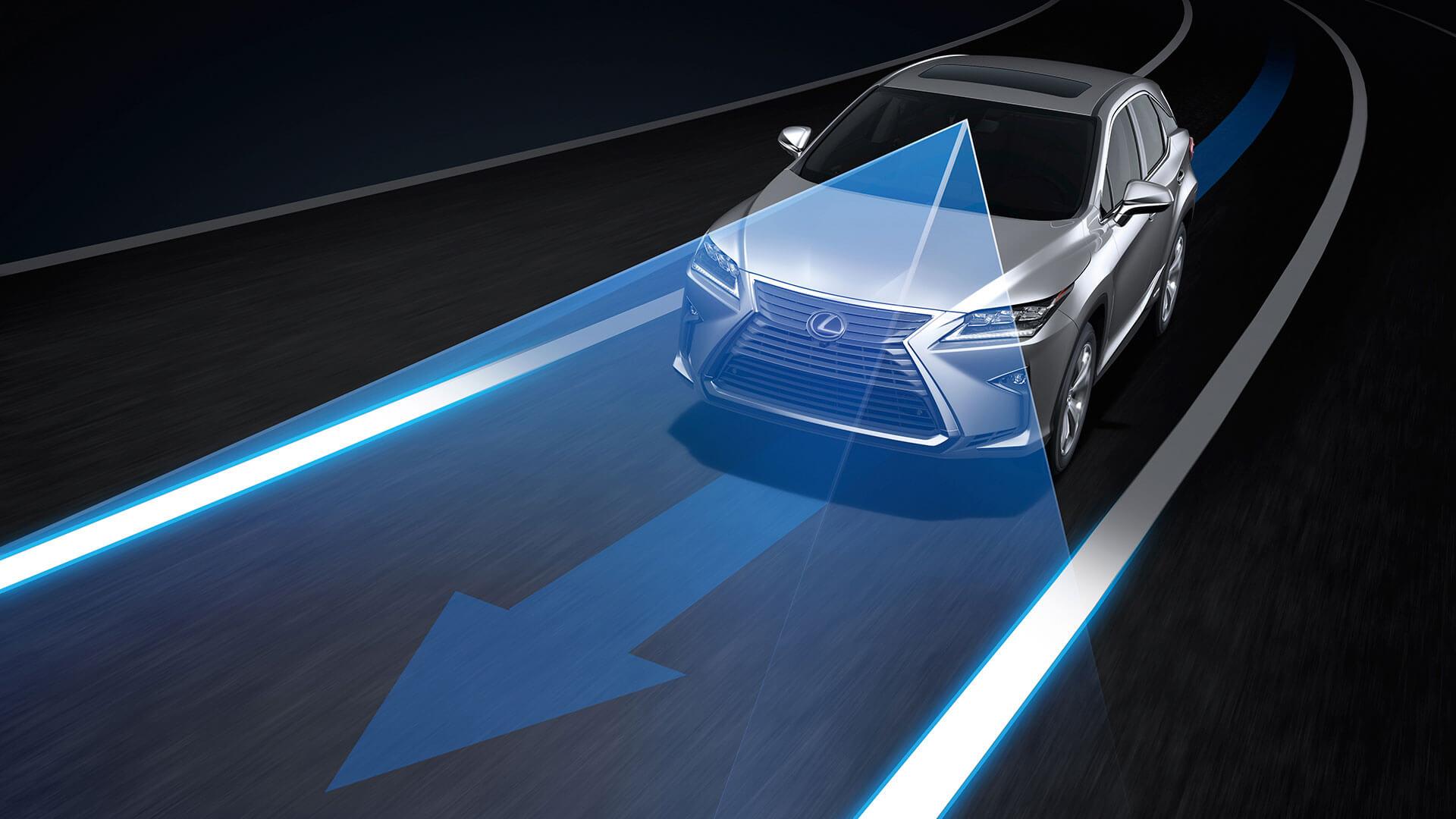 2017 lexus rx 200t features advanced lane