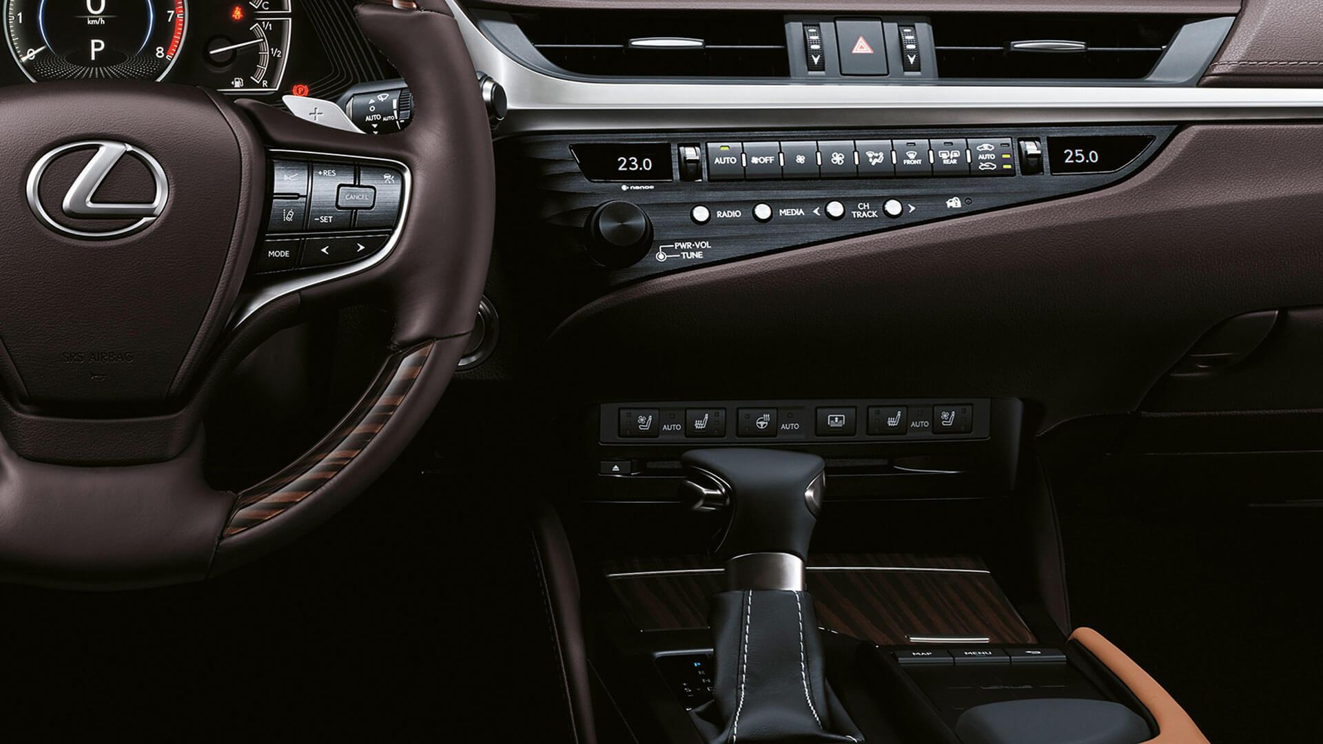 2018 lexus es experience front seats heating ventilation