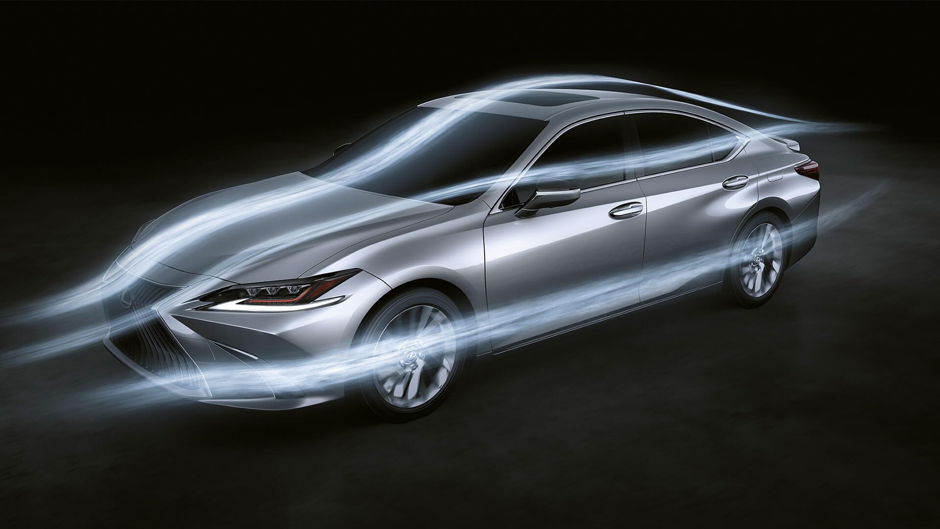 2019 lexus es 250 experience feature aerodynamics