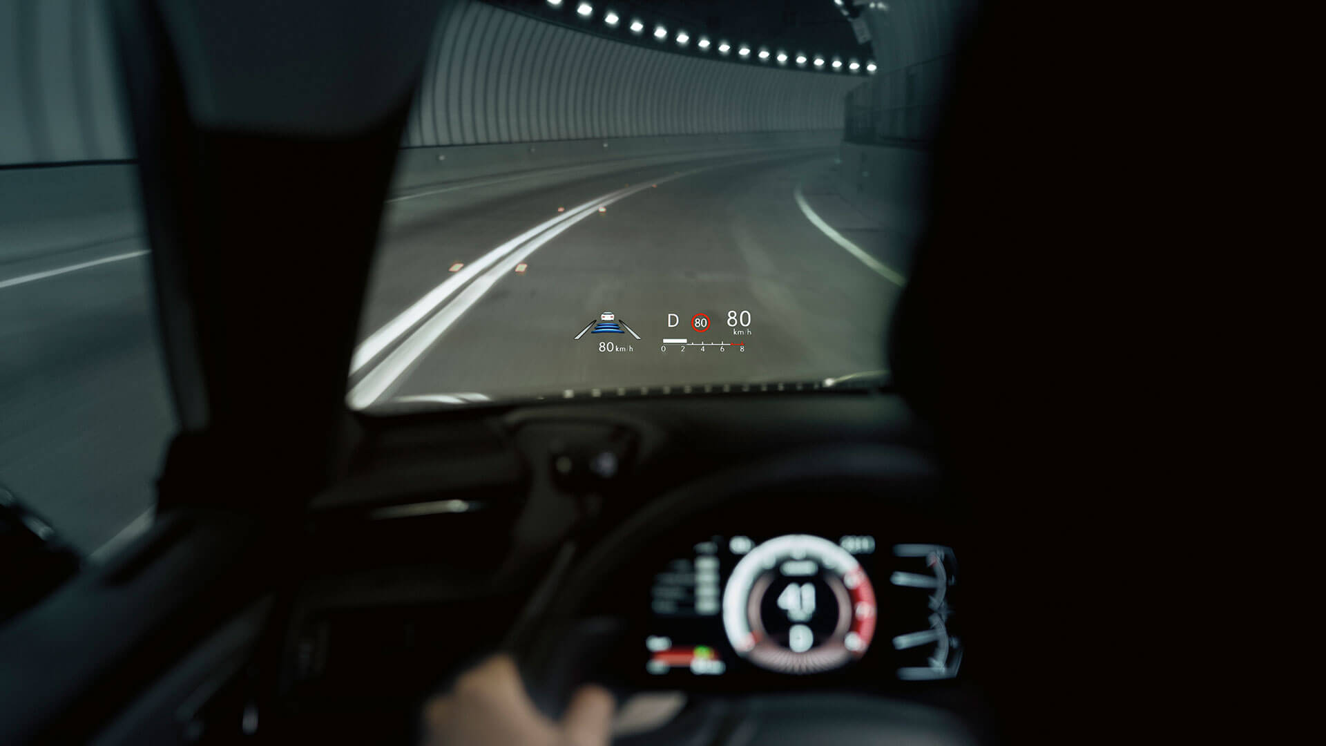 2019 lexus es 250 experience feature heads up display