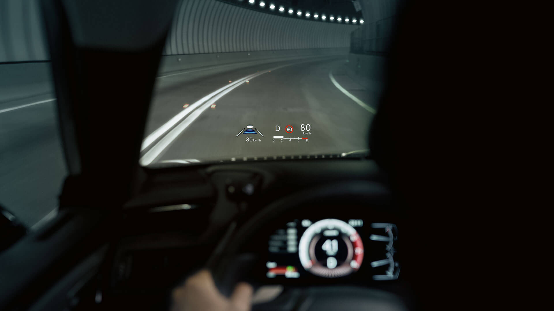 2019 lexus es hybrid experience feature heads up display