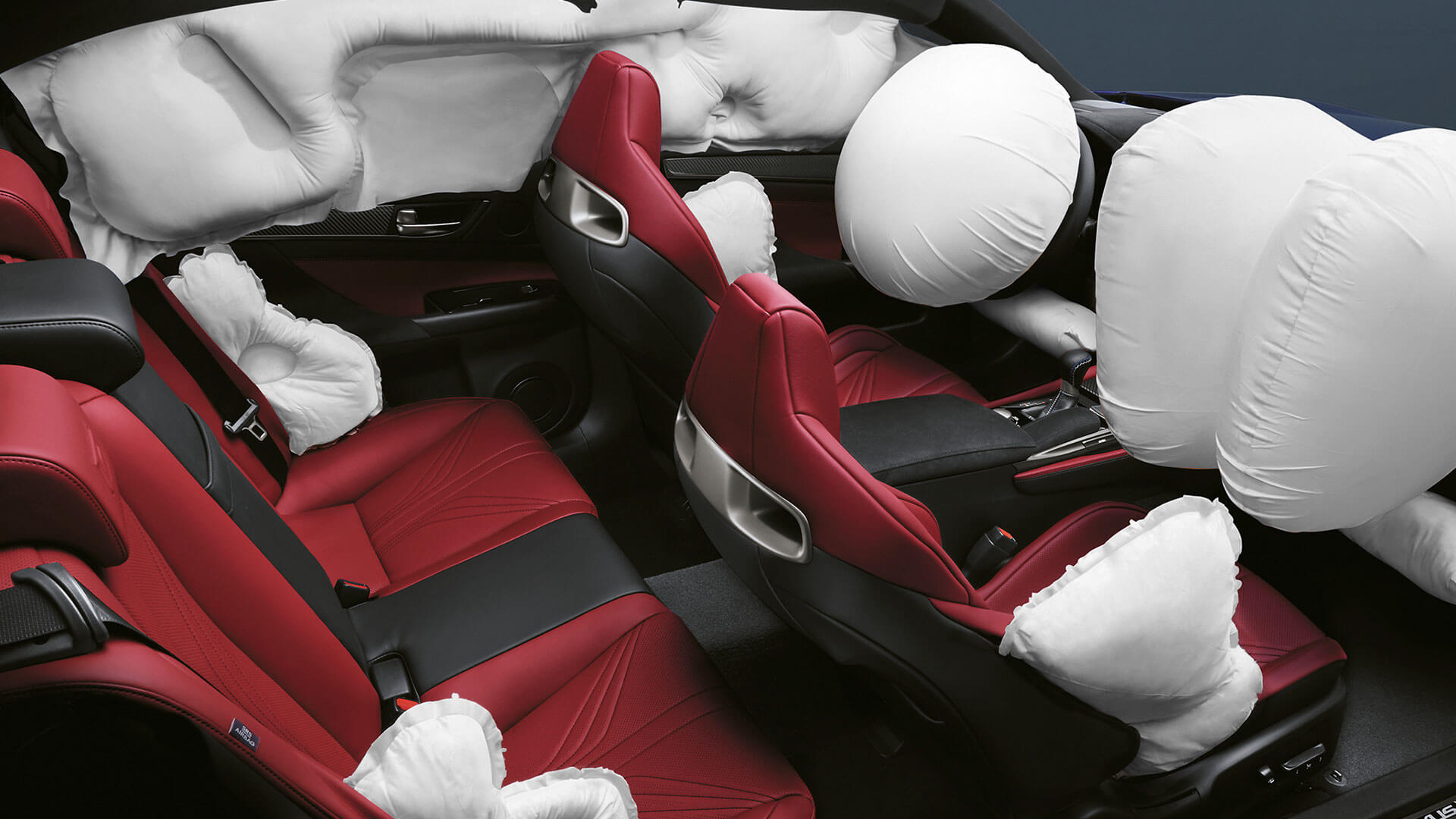 2017 lexus gs f features airbags
