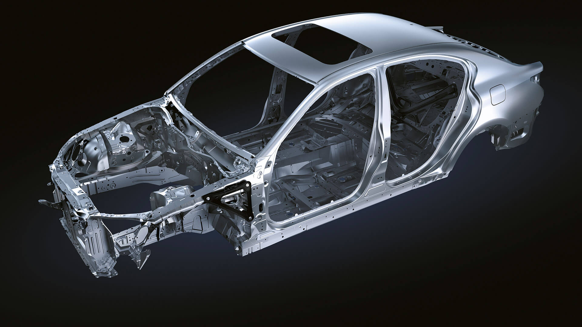 2017 lexus gs f features rigid chassis