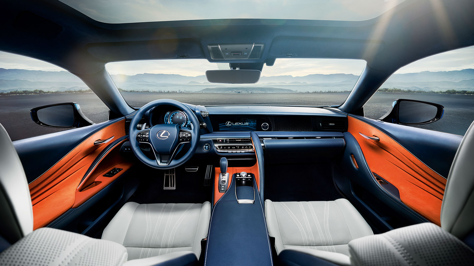 2018 lexus lc blue gallery 016 interior