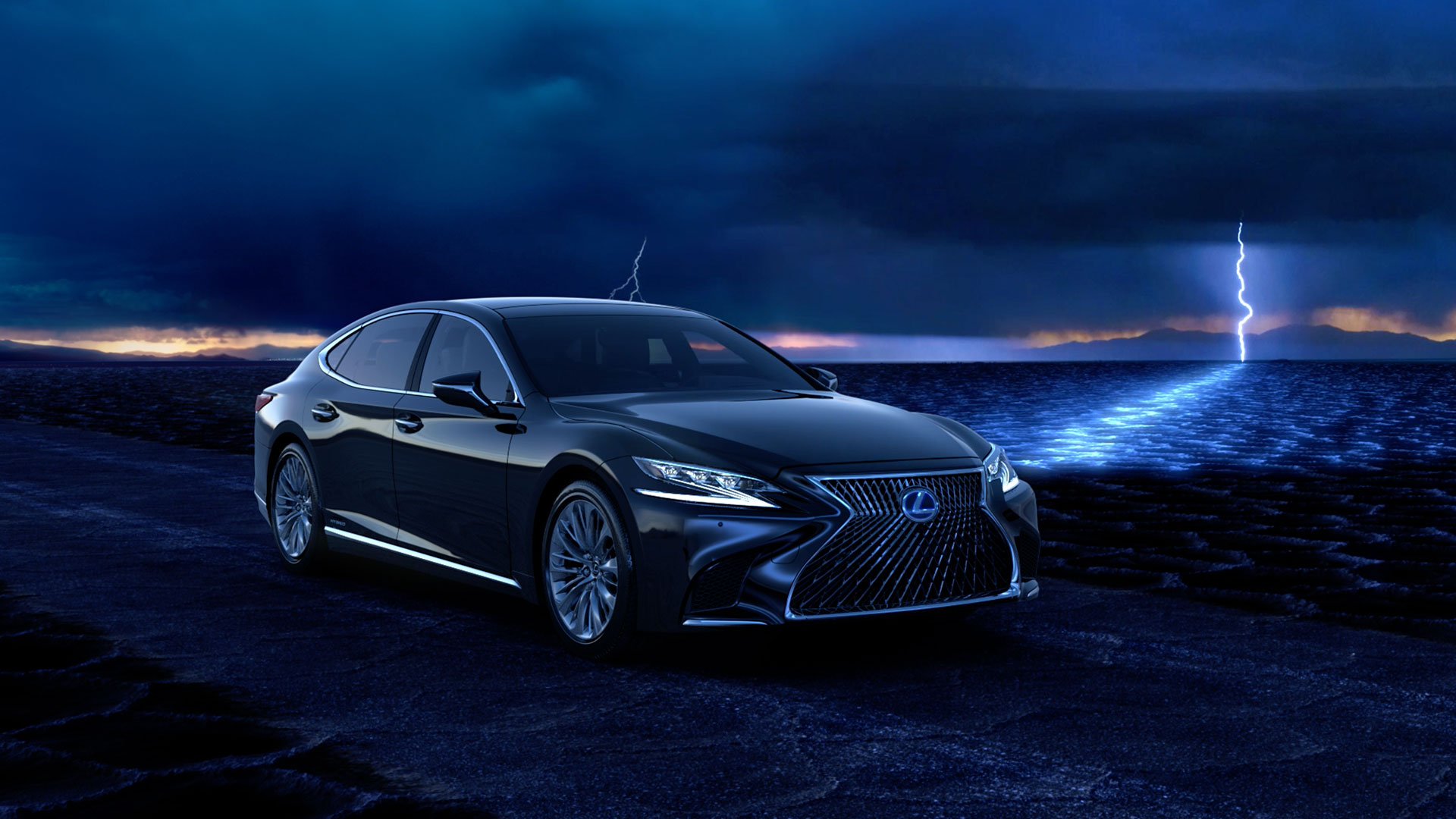 2018 lexus ls reveal video