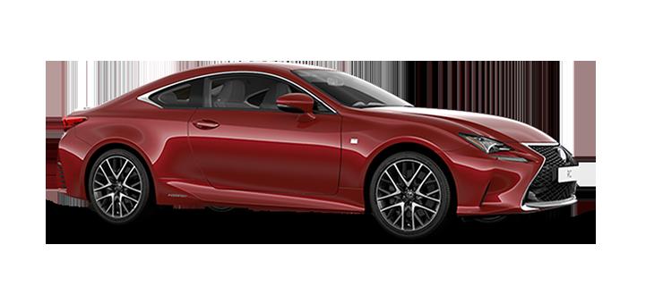 rc hybrid f sport rosso fuoco