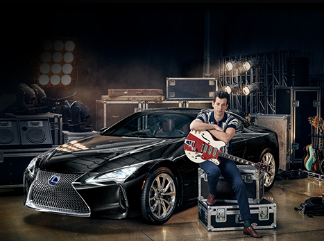 Lexus LC и Mark Ronson
