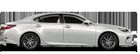 Новый премиальный бизнес седан Lexus ES 350 вид сбоку