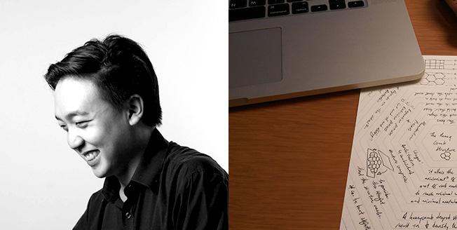 Бенжамин Ксю автор мнемонического блокнота финалист конкурса Lexus за дизайн
