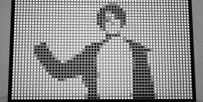 Интерактивный дисплей из вращающихся деревянных кубов проект финалиста конкурса Lexus за дизайн