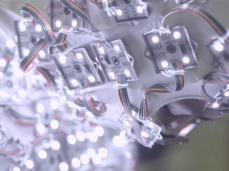 Документальный ролик о проектировании света для бренд кампании Лексус удивительное в движении