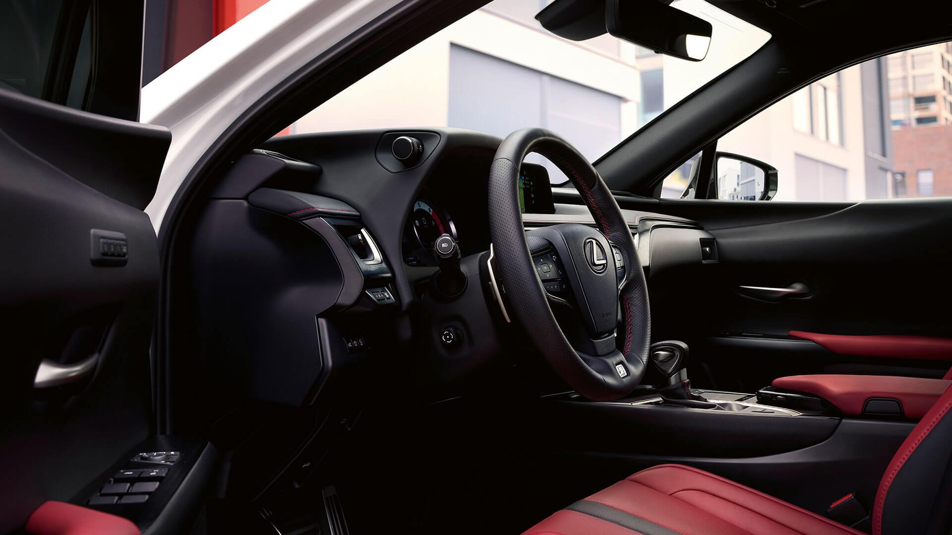 2018 lexus ux ru driver focused cockpit