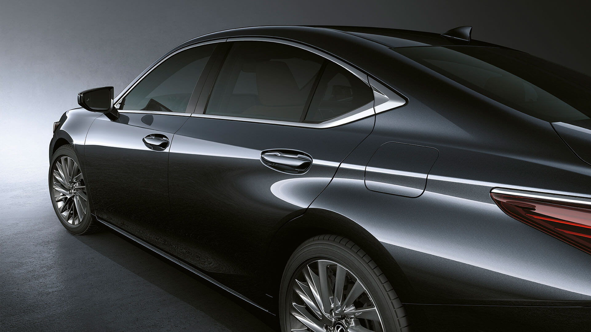 2019 lexus es 250 experience feature coupe like silhouette