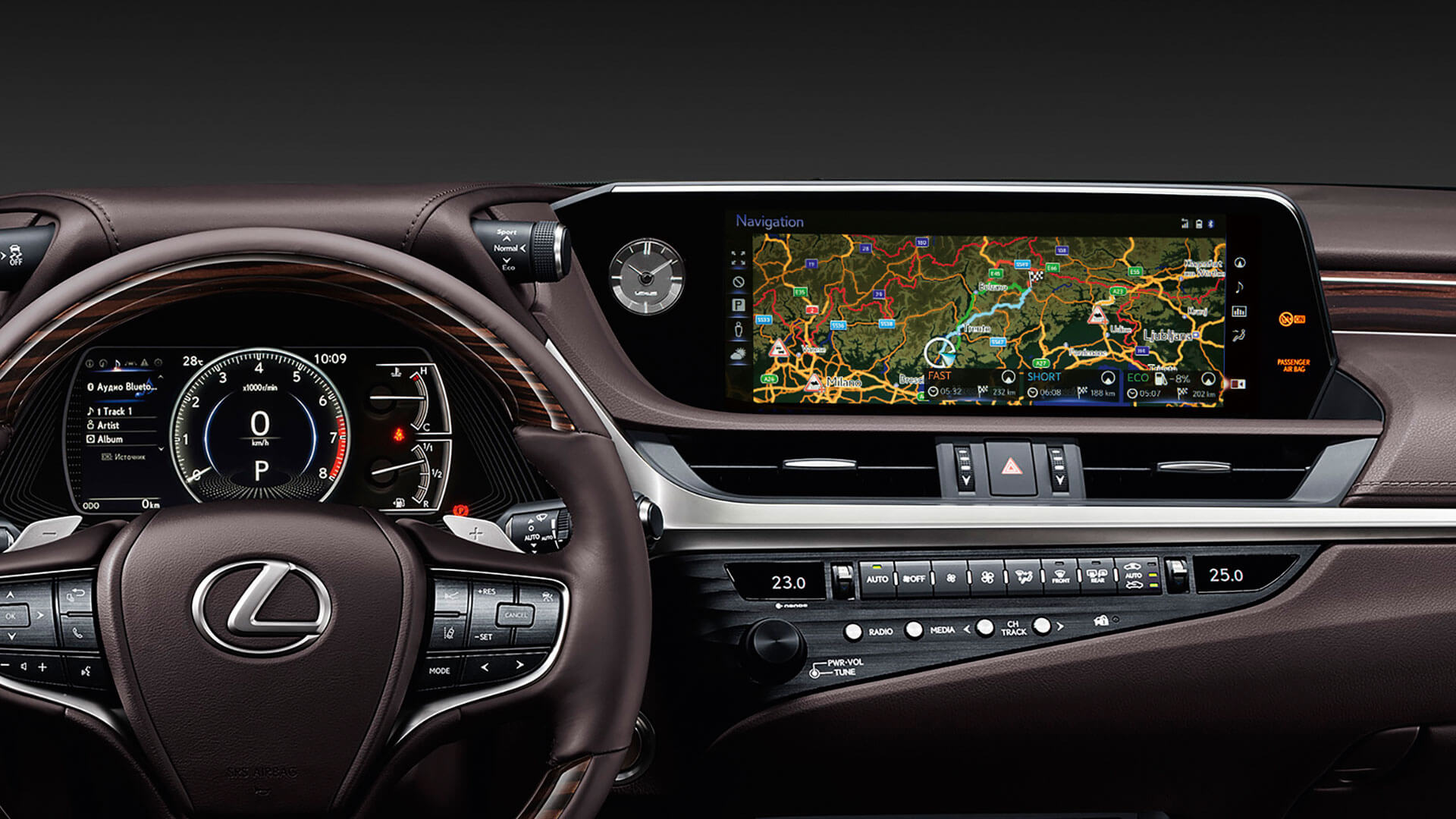 2019 lexus es 250 experience feature multimedia display