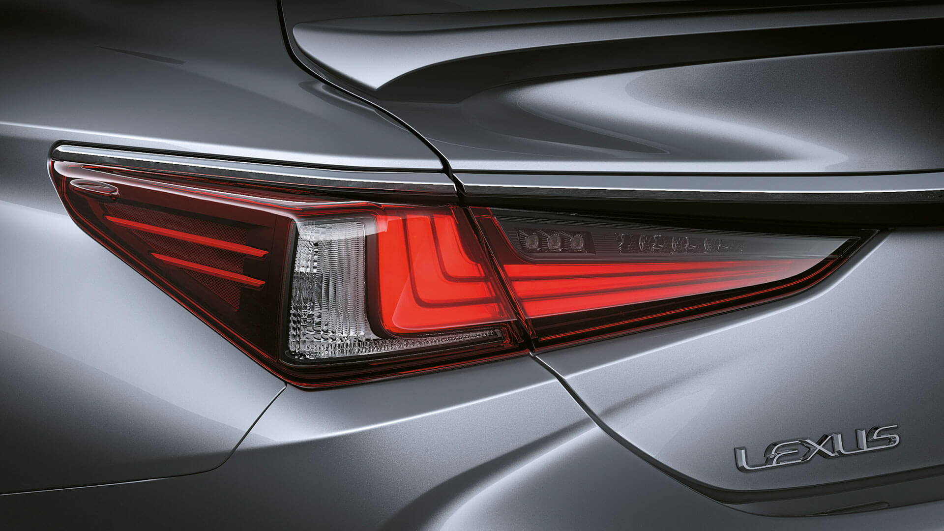 2019 lexus es 250 experience feature rear led lights