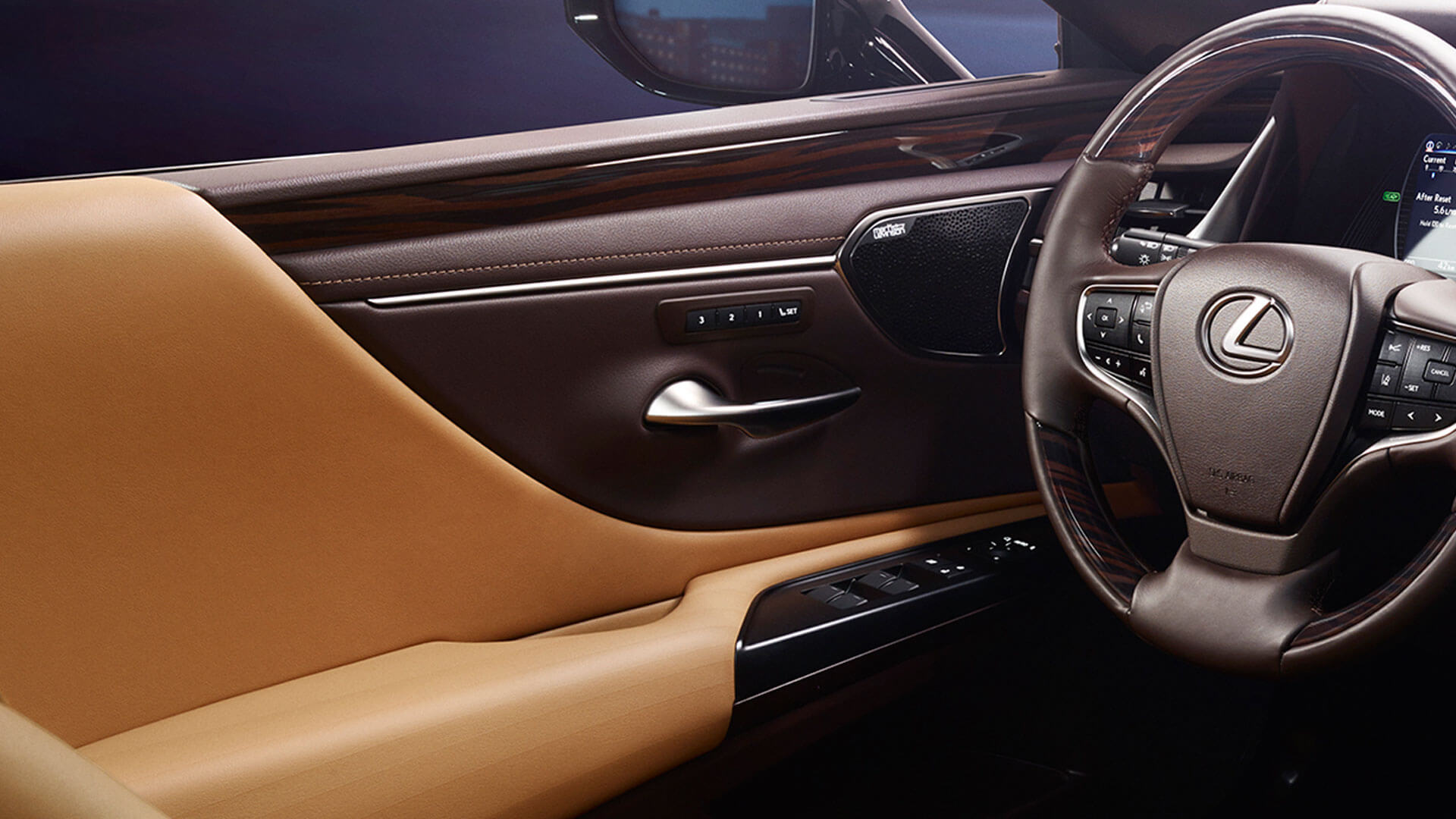 2019 lexus es experience feature door handle
