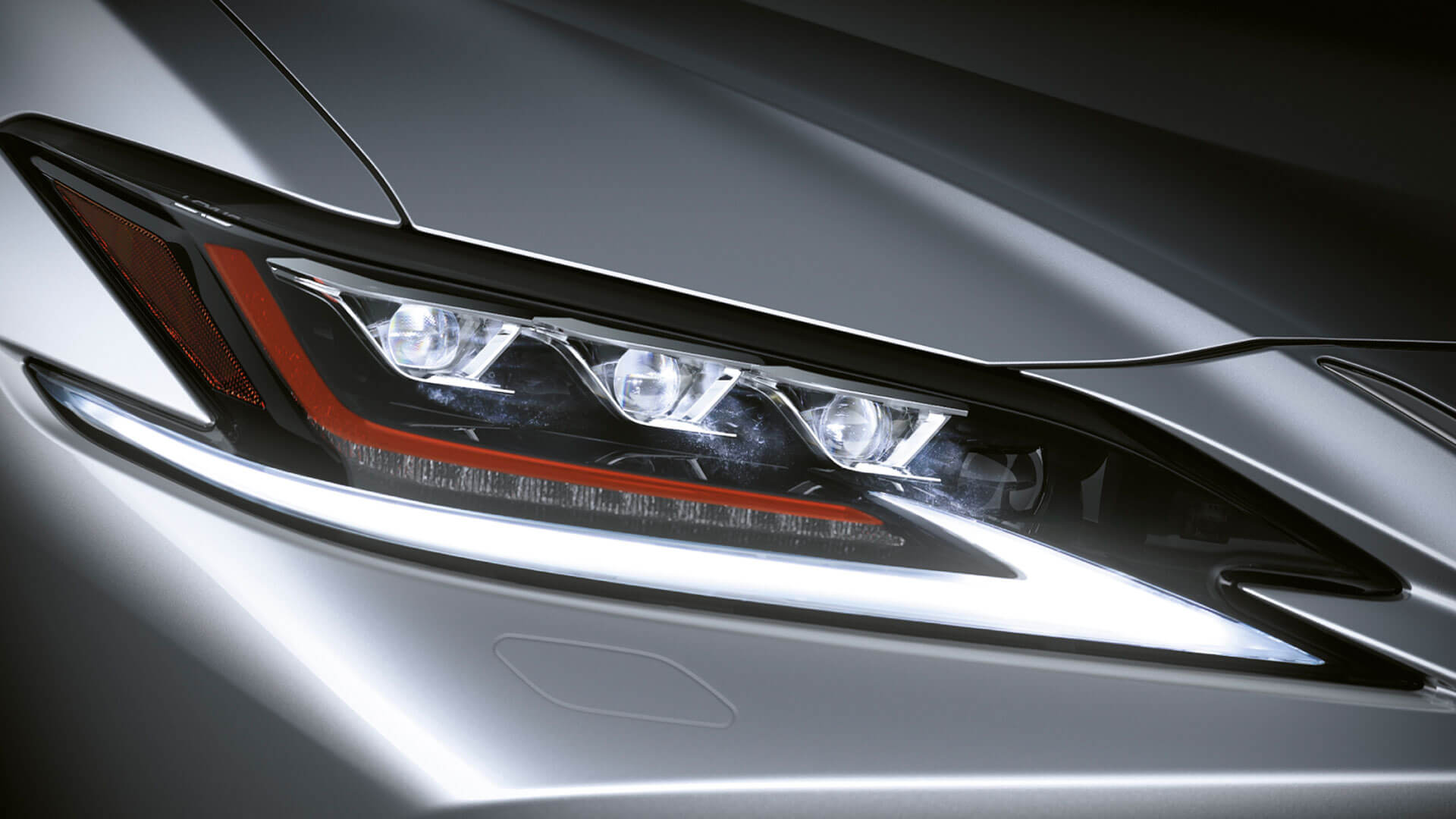 2019 lexus es experience feature headlight