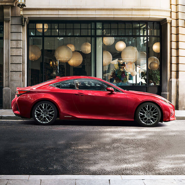 2018 lexus new rc hero mobile backup