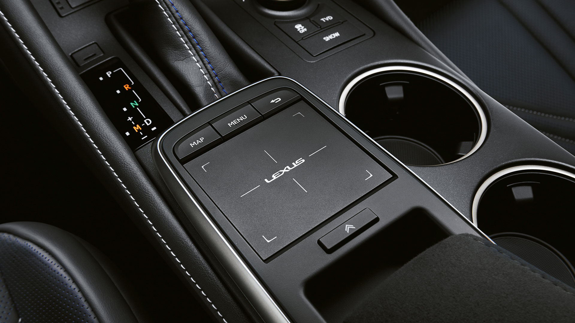 2018 lexus rc f features touch pad
