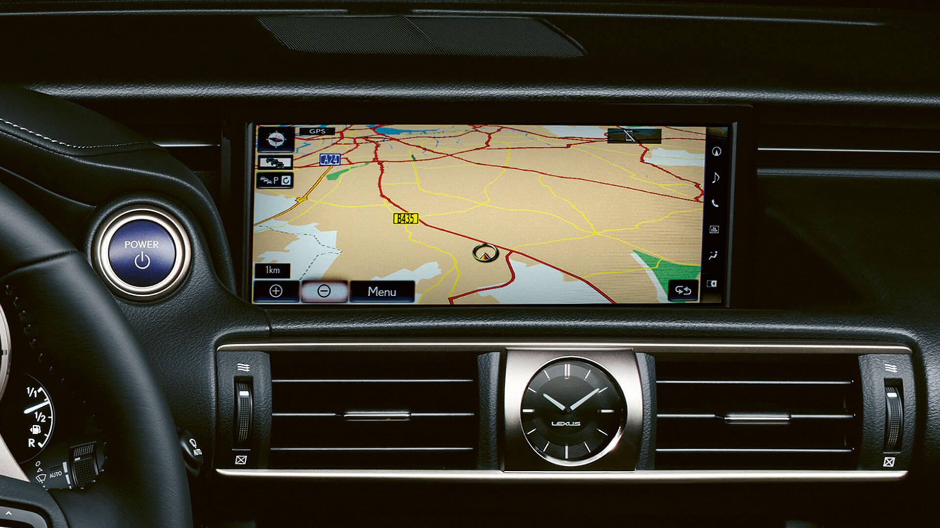 2018 lexus is 300h features sat nav