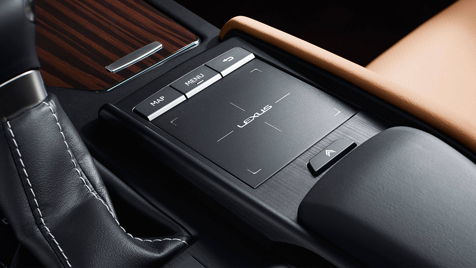 2019 lexus es hybrid experience feature touch pad