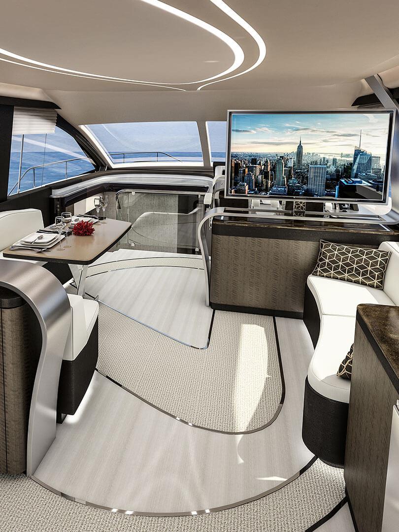 2019 lexus ly 650 luxury yacht portrait