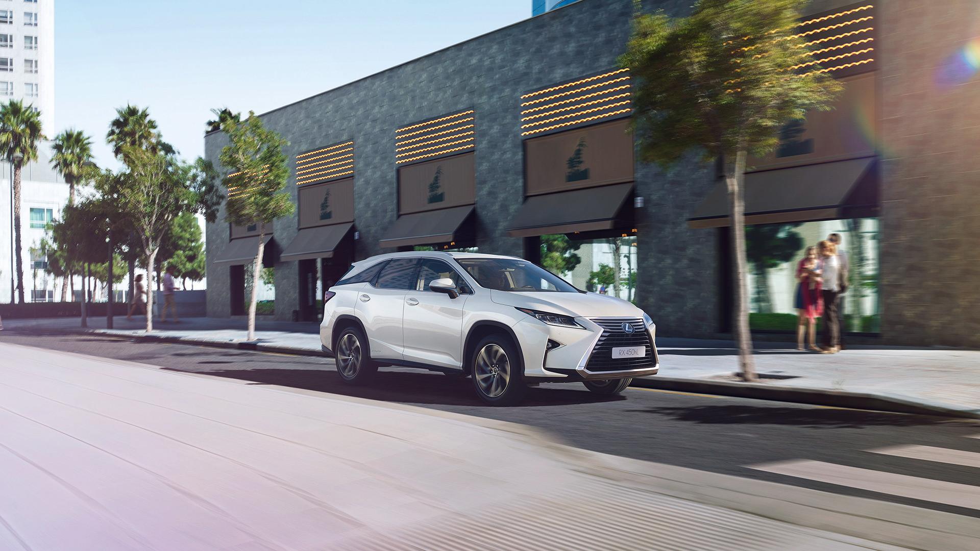 Lexus RX 450hL biedt ultiem comfort