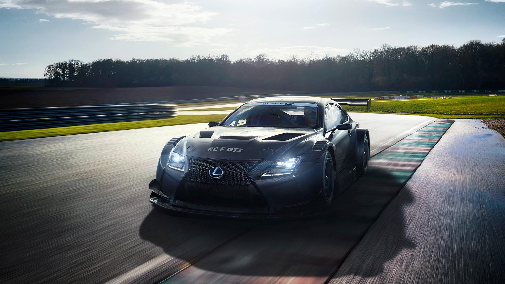 Nieuwe Lexus RC F GT3