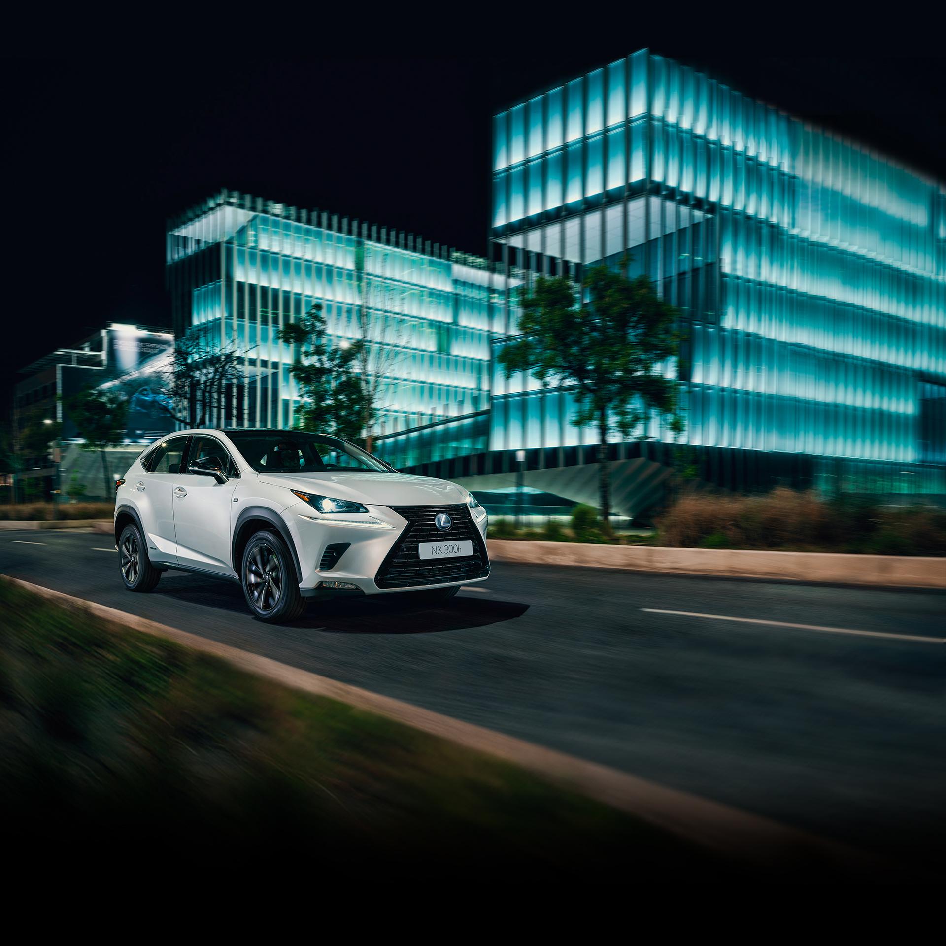 Ontdek De Hybride Lexus NX 300h Crossover