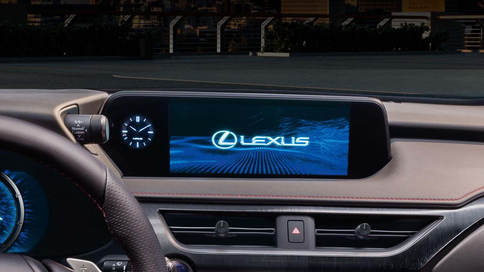 2018 lexus ux eu experience 10 3 inch lexus premium navigation