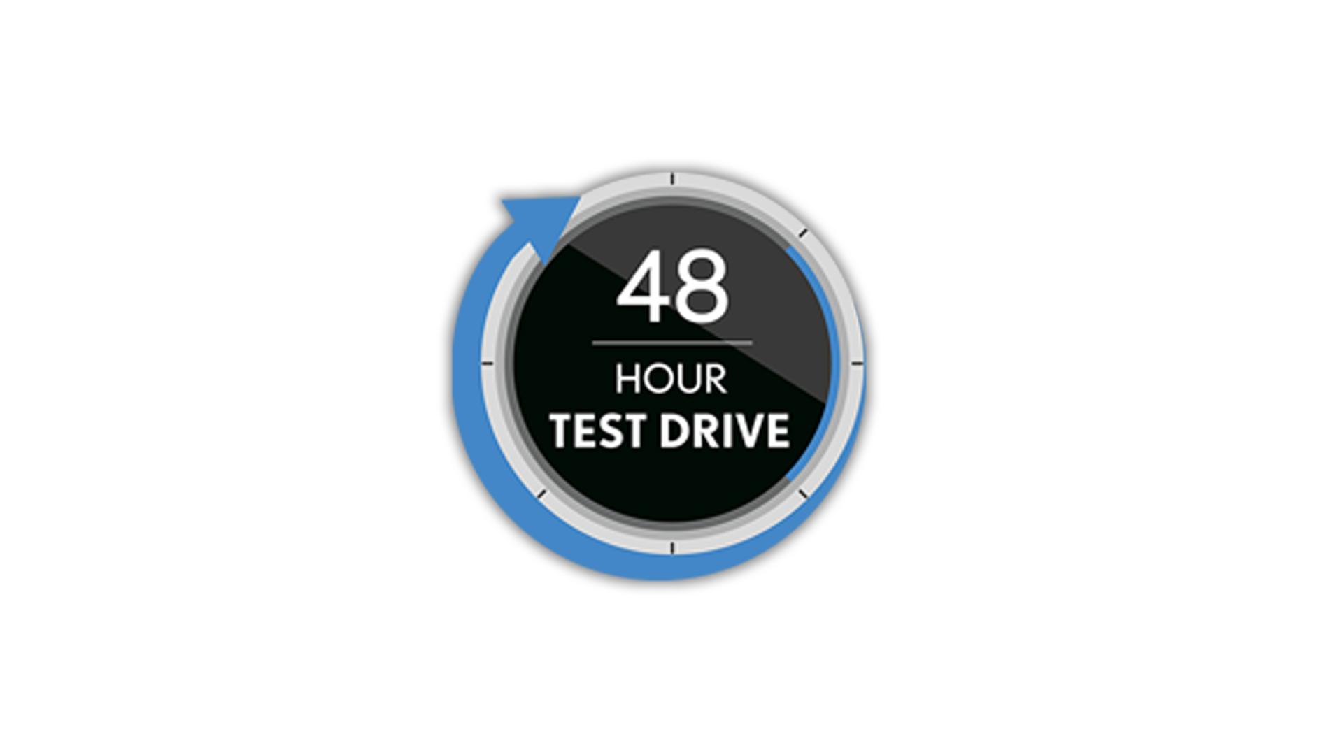 48 hour testdrive logo