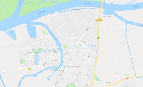 Klantenservice map image