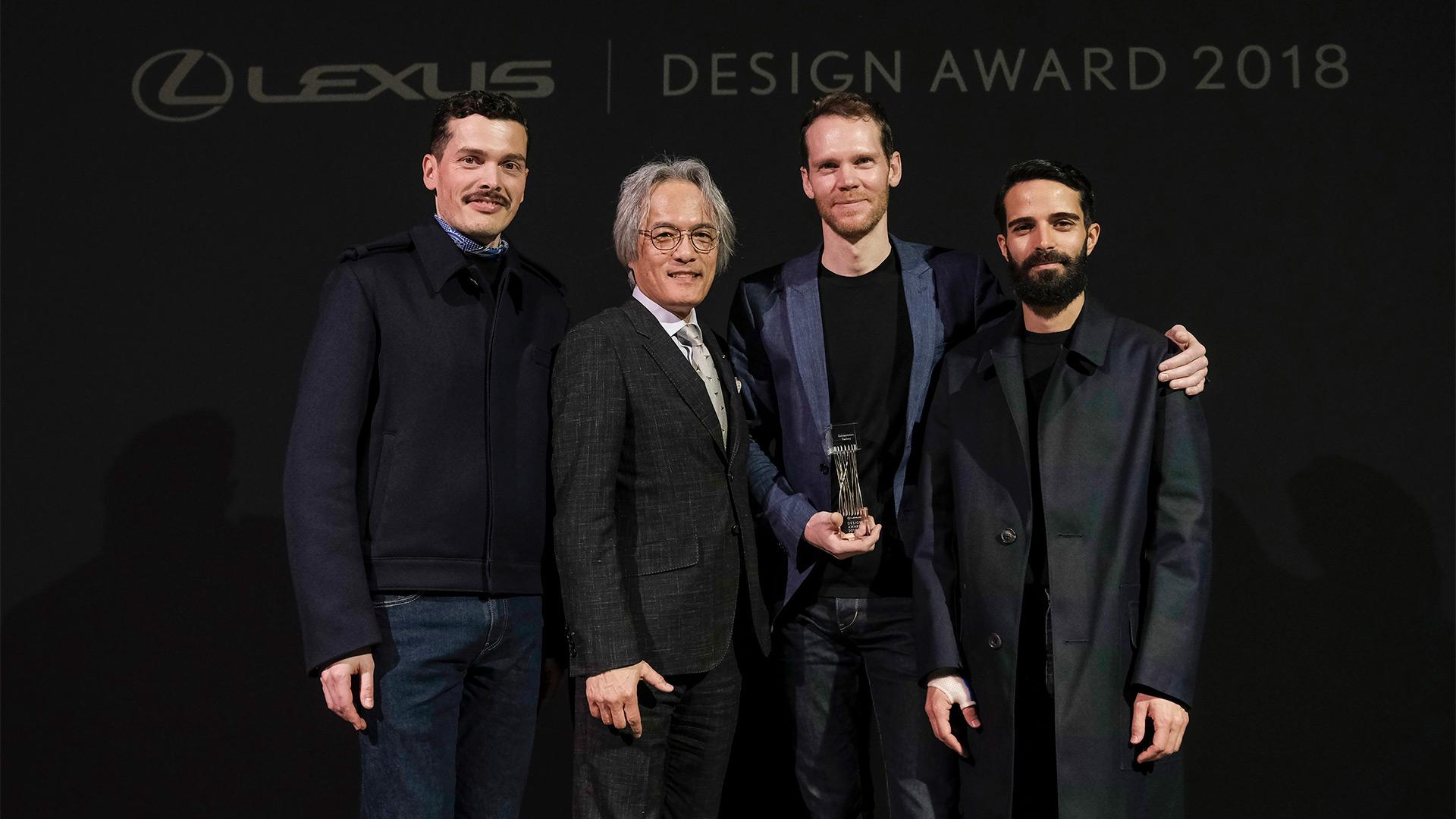 winnaar lexus design award 2018