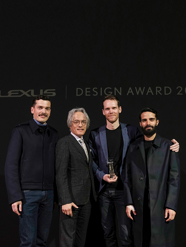 winnaar lexus design award 2018