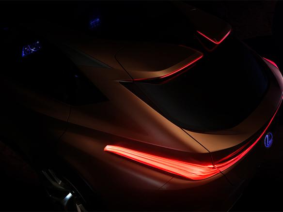 nieuwe lexus conceptcar