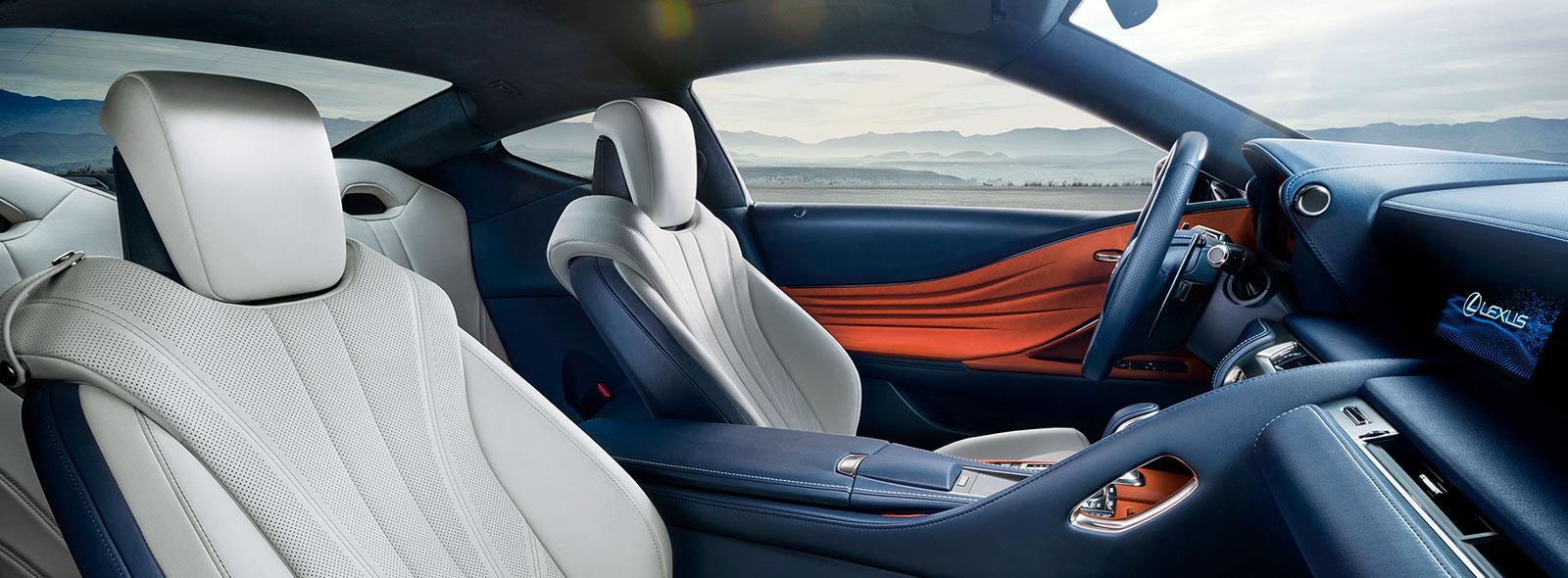 2017 Lexus LC 500h Interior Gallery 001