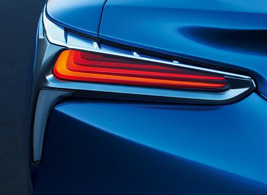 Lexus LC 500h left taillight