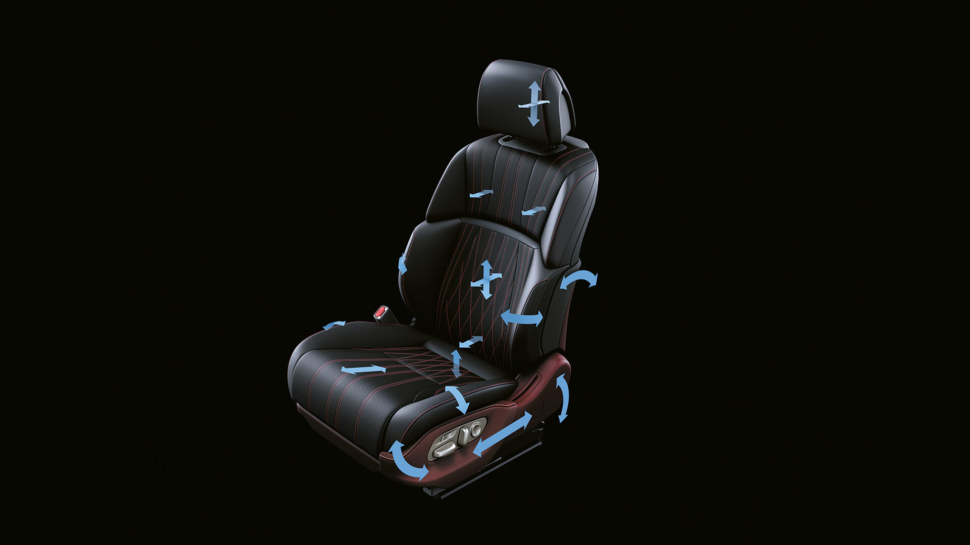 2018 lexus ls features front seat adjustment and massage